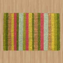 Bright Striped Mat