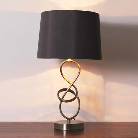 Calais Metal Twist Table Lamp