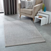 Grey Camden Textured Rug