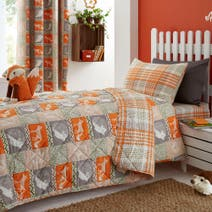 Kids Camping Adventure Bedspread