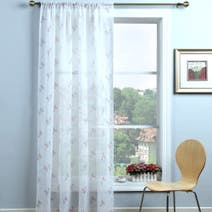 Candy Rose Voile Panel