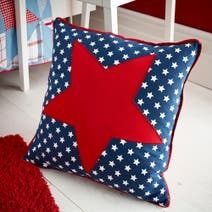Kids Cool Patchwork Cushion