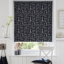 Deli Chalkboard Blackout Blind