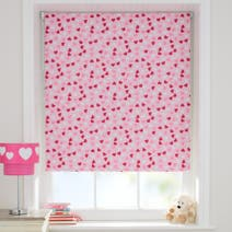 Ditsy Heart Cordless Blackout Roller Blind