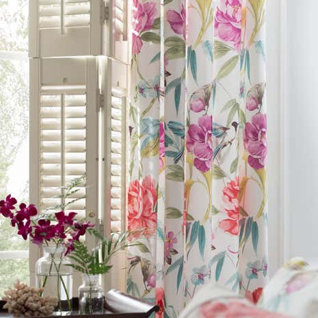 Dorma Tropical Cordelia Lined Pencil Pleat Curtains