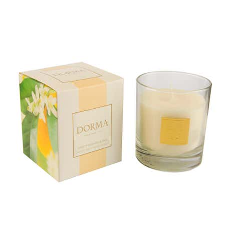 Dorma Sweet Mandarin and Basil Scented Candle