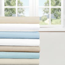 Easycare Plain Dye 25cm 3/4 Fitted Sheet