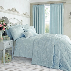 Duvet covers duvet sets bedding collections dunelm for Duck egg blue and cream bedroom ideas