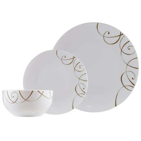 Elegance 12 Piece Dinner Set
