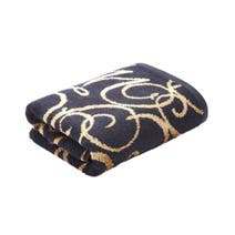 Black Elegance Hand Towel