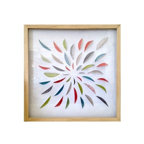 Elements 3D Framed Print