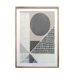 Elements Abstract Framed Print