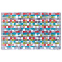 Elements Squares Bath Mat