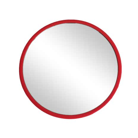 Elements Red Plastic Mirror