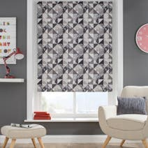 Elements Square Grey Blackout Blind