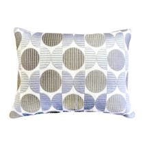Elements Embroidered Circles Cushion