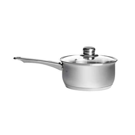 Essentials Stainless Steel 18cm Saucepan