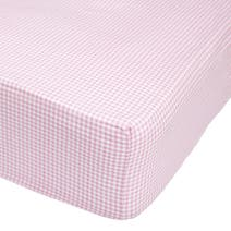 Kids Flower Garden Cerise 25cm Fitted Sheet