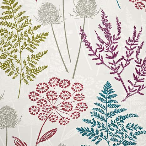 Berry Galloway Cotton Fabric