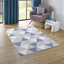 Elements Geo Cotton Dhurry Rug