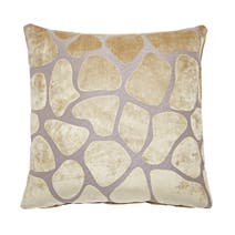 Natural Giraffe Cushion