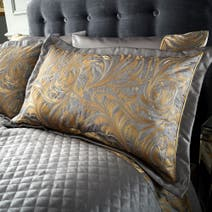 Grayson Pewter Pillow Sham