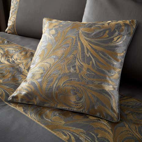 Grayson Pewter Cushion