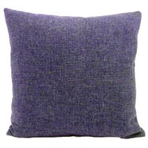 Plum Houndstooth Cushion