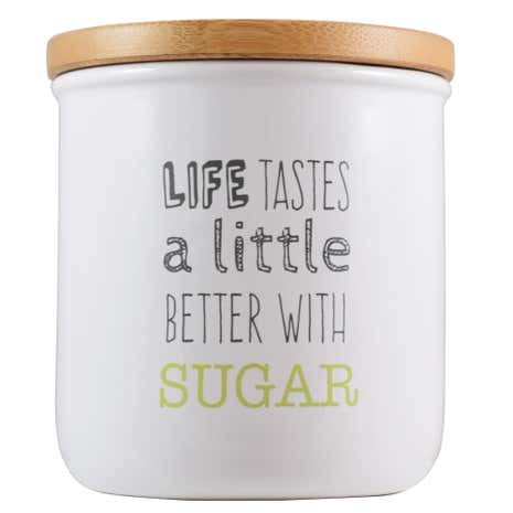 Icons Sugar Canister
