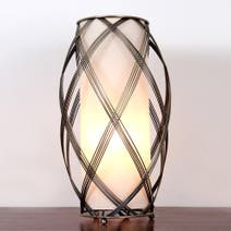 India Wire Frame Table Lamp