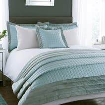 Duck Egg Kensington Bedspread