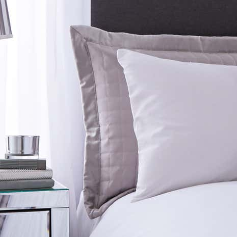 Kensington Silver Pillow Sham
