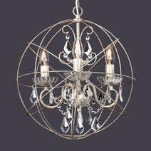 Kiera Delicate Globe Light Fitting