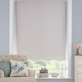 Lace Trim Blackout Roller Blind