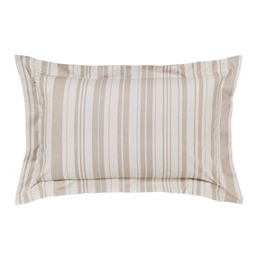 Laura Natural Jacquard Oxford Pillowcase