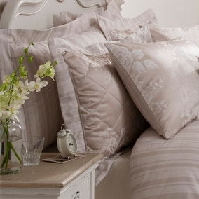 Laura Natural Jacquard Pillow Sham