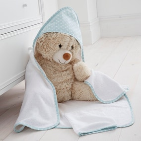 Little Owls Nursery Cuddle Robe and Mitt