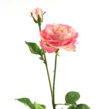Pink Lulu Artificial Rose