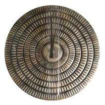 Silver Metal Plate Wall Clock