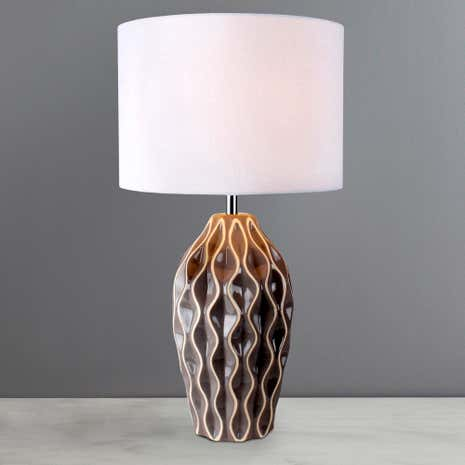 Milan Ceramic Wave Lamp
