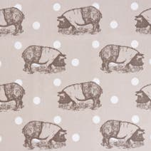 Miss Piggy Polka Dot PVC Fabric