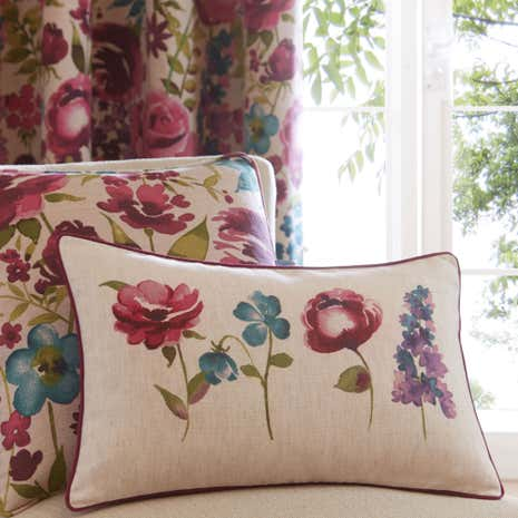Misty Meadow Boudoir Cushion