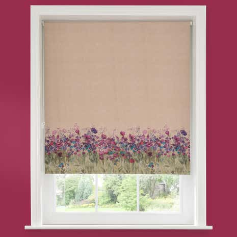 Misty Moor Blackout Roller Blind Dunelm