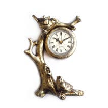 Misty Moors Bird Branch Clock