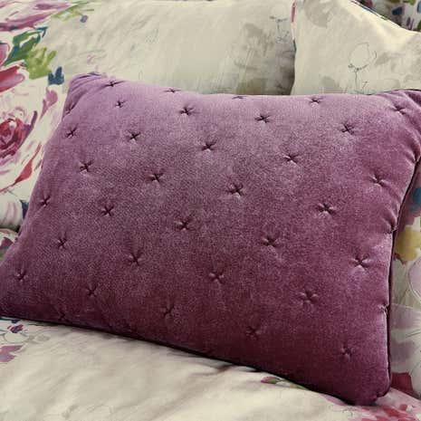 Misty Moors Plum Boudoir Cushion