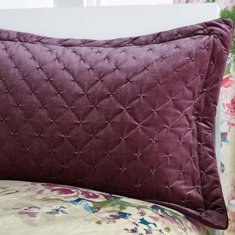 Misty Moors Plum Pillow Sham