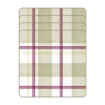 Misty Moors Set of 4 Tartan Coasters