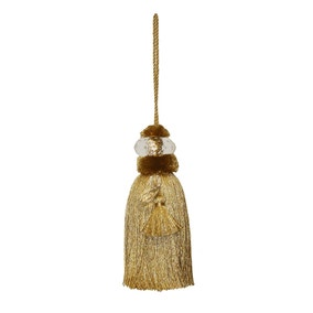 Gold Monroe Key Tassel