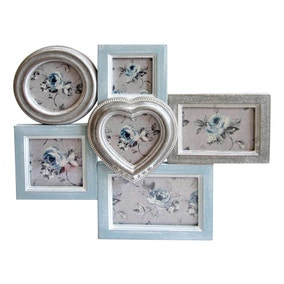 Duck Egg Multi Aperture Photo Frame