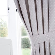 Neutral Nursery Blackout Pencil Pleat Curtains